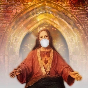 masked jesus